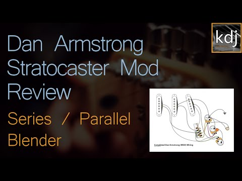 Dan Armstrong Stratocaster Mod Review - Series / Parallel ... on