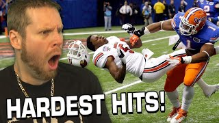 HARDEST FOOTBALL HITS! How does NFL allow this??