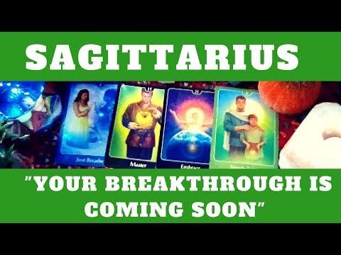 """SAGITTARIUS OCTOBER 2017 TAROT READINGS """"YOUR BREAKTHROUGH IS COMING SOON"""""""