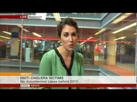UN sued over Haiti cholera: BBC World's Newsrooom