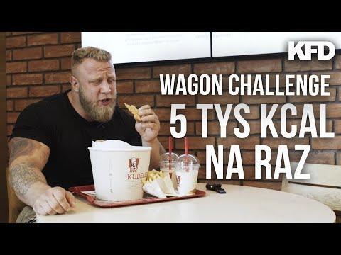 WAGON CHALLENGE - 5+ TYS KCAL NA RAZ! - KFD