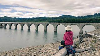 うめののたび。タウシュベツ橋梁にいきました。
