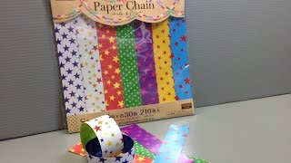 Daiso Star Paper Chain Star Origami Paper Unboxing!