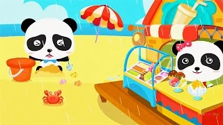 Baby Panda Learn about Natural Seasons, Fun Educational Game for children