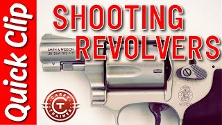 38 Special Revolver (Demonstrating How to Shoot Revolvers)