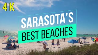 Sarasota Beaches - Which Are Best? 4K