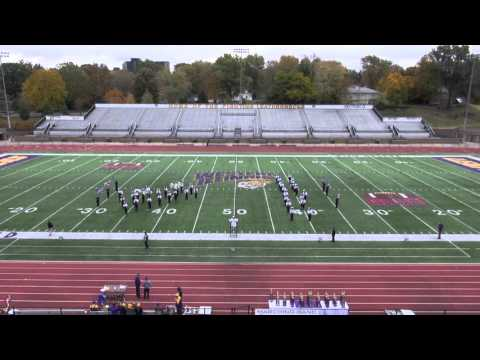 A Bushnell Prairie City High School Spartan Marching Band