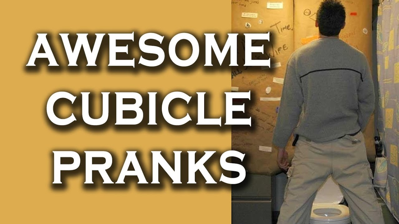Top 10 Funny Pranks in Cubicles  YouTube