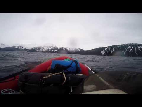 Passage canal Alaska 12/31/16 Zodiac Pro16 rigid 20'