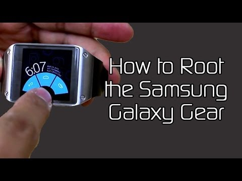 How to Root the Samsung Galaxy Gear and Install Pie Controls