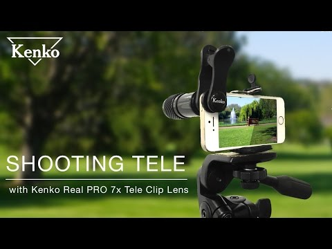How To Shoot With Kenko Real PRO 7x Tele Clip Lens