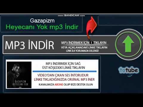 Gazapizm - Heyecanı Yokindir, Totube Mp3 İndir