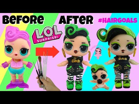 LOL Surprise Hairgoals Makeover Series 5 Custom Ultra Rare Doll Bhaddie Kids Toy