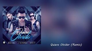 Quiero Olvidar (Remix) - J Alvarez Ft. Ken-Y & Maluma (Letra)