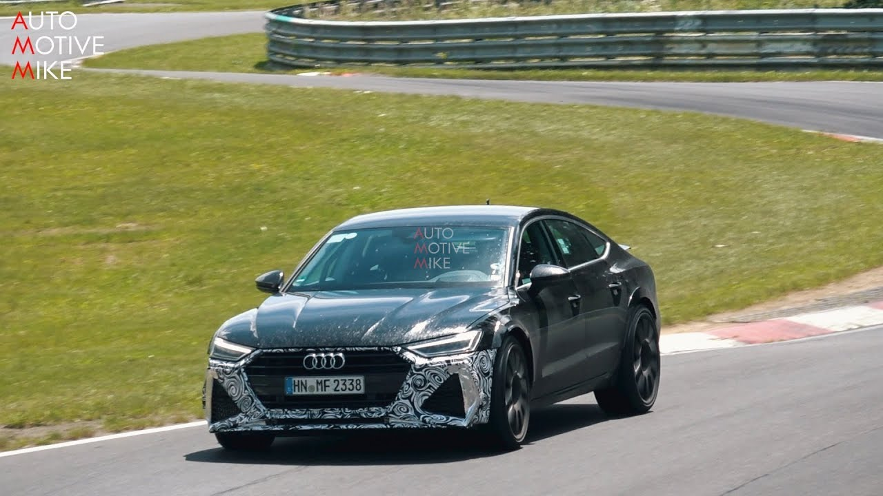 2020 AUDI RS7 SPIED TESTING AT THE NÜRBURGRING - YouTube