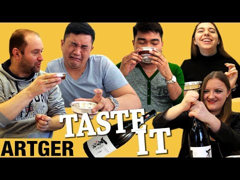 Foreigners Try Mongolian Milk Vodka For The First Time | Taste It