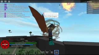 Roblox - Arc of the Elements - How a Dragon Flies.