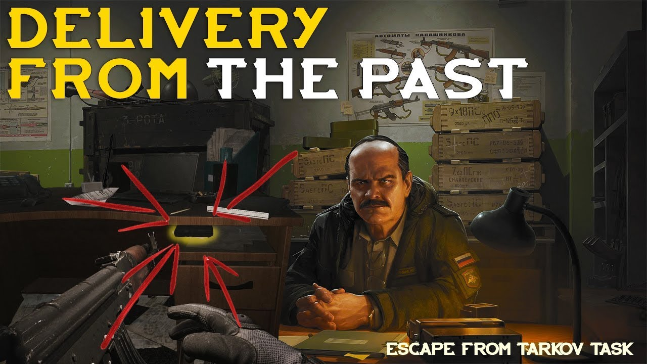 Delivery From The Past Prapor Task Escape From Tarkov