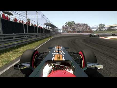 Official - F1 2011 Developers Diary 2 Handling & AI HD video game trailer - PC PS3 X360