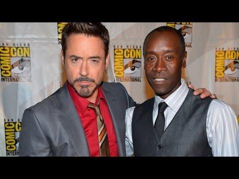 Tony Stark & Rhodey To Battle In 'Iron Man 3'? thumbnail