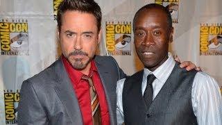 Tony Stark & Rhodey To Battle In
