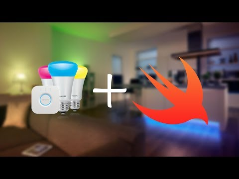 Control your Philips Hue lights using Swift 4 & Xcode 9