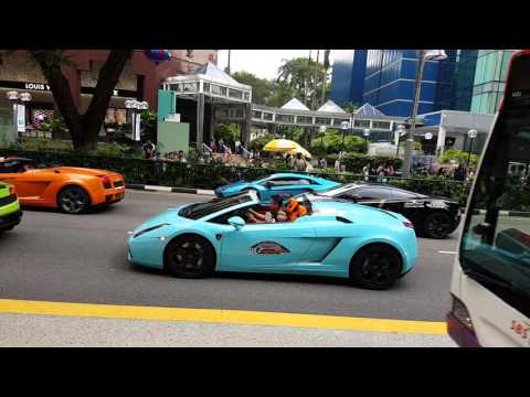 Car Parade @ Orchard Road Singapore