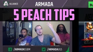 Video Armada's 5 Tips for Peach Players - SSBM download MP3, 3GP, MP4, WEBM, AVI, FLV Juni 2017