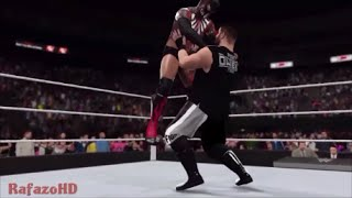 WWE 2K16 [SIMULATION] - Finn Bálor vs Kevin Owens - Beast In The East Highlights