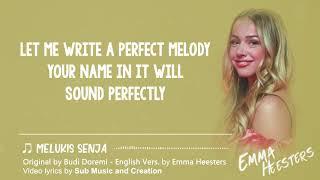 Budi Doremi - Melukis Senja English Version 🎶 By Emma Heesters Lyrics