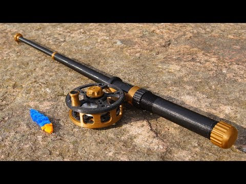 Awesome 3D Printed Fishing Rod!