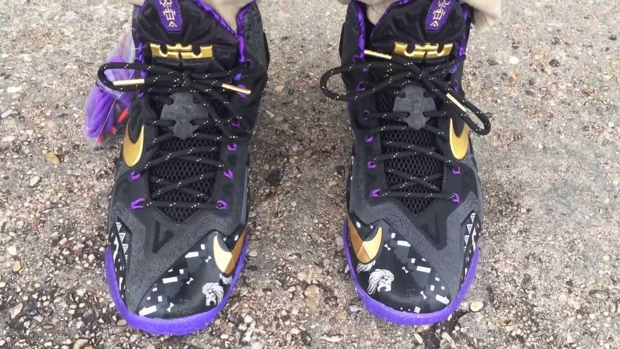 Nike Lebron 11 XI BHM on feet - YouTube d03eaeb9f