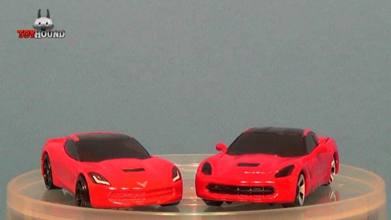 Hot Wheels 2014 Corvette Stingray Vs Maisto 2014 Corvette
