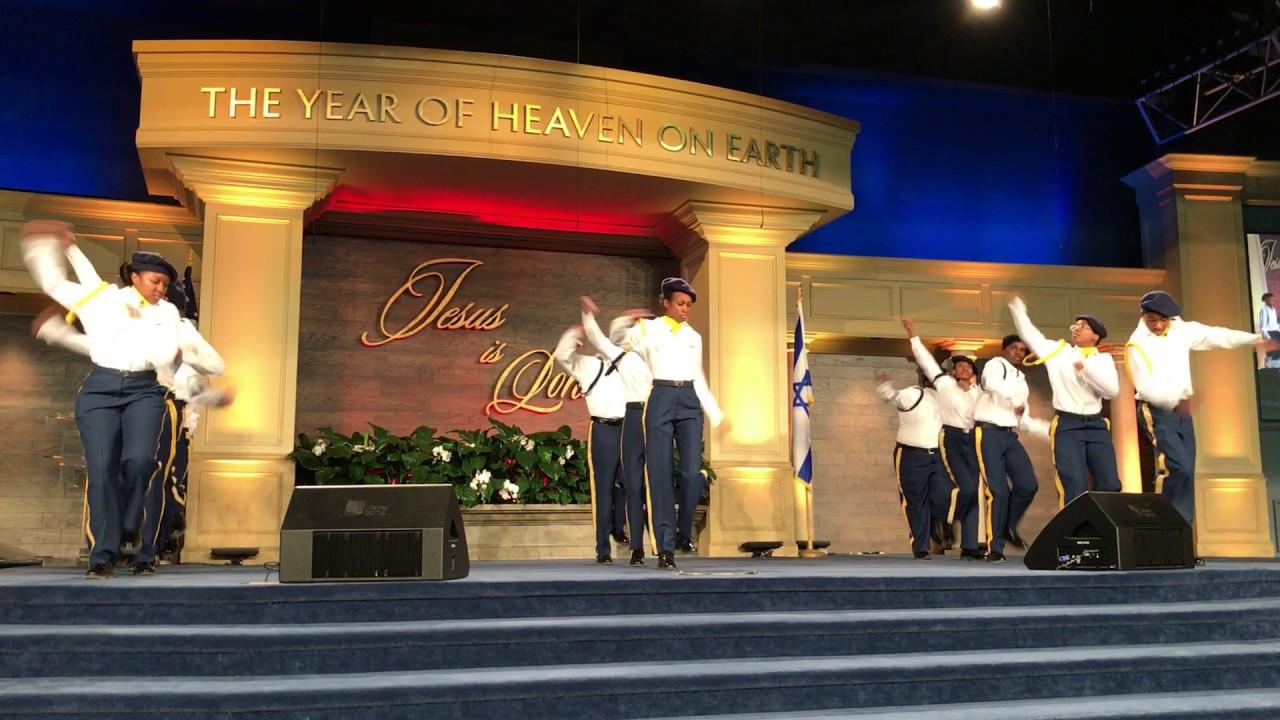 Faith Drill Team Living Word Christian Center 4 2 17