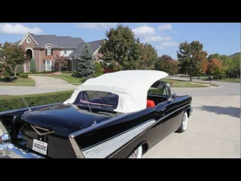 1957 Chevy Bel Air Convertible Classic Muscle Car for Sale in MI Vanguard Motor Sales