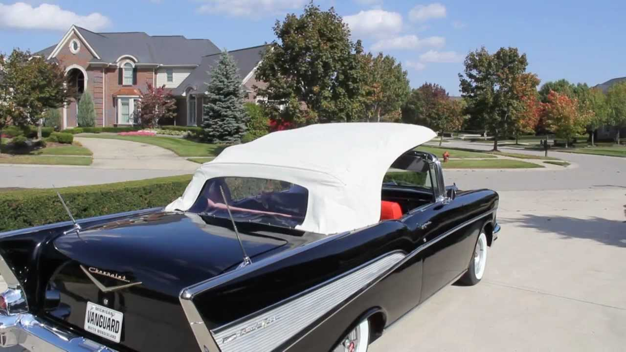1957 chevy bel air convertible classic muscle car for sale in mi