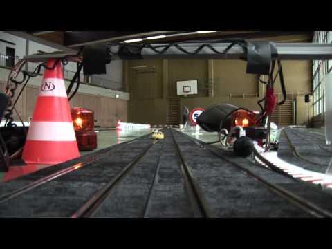 Ninco Rennbahn High Speed auf der 217 Meter langen, 4-spurigen Autorennbahn in Ittersbach