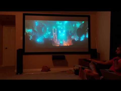 Definitive Technologies 5.1 and Epson Home Cinema 4050 DEMO