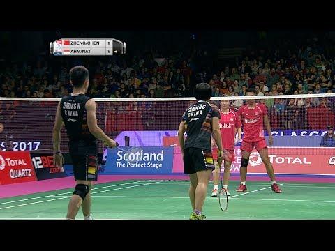 TOTAL BWF World Championships 2017   Badminton F M5-XD   Zheng/Chen vs Ahm/Nat Mp3