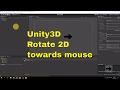 Rotate or Aim Towards Mouse or Object in 2D - Unity [ENG]