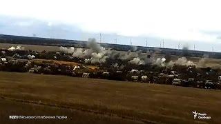Бойовики обстріляли Водяне з «Градів» – прес центр штабу АТО