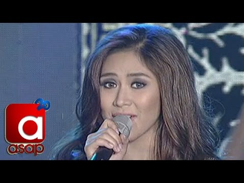 "Sarah Geronimo sings ""Perfectly Imperfect"" on ASAP"