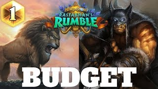 Hearthstone BUDGET HUNTER for easy Legend! Hearthstone Rastakhan#39s Rumble Budget Decks #1 2018