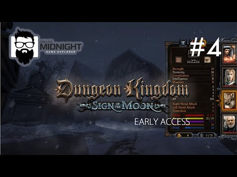 Dungeon Kingdom Sign of the Moon - Early Access - Deeper Into the Temple - Part 4