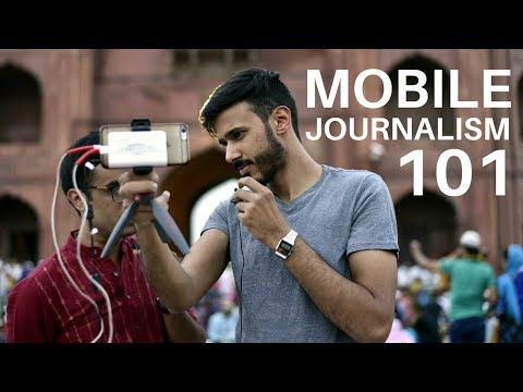 Yusuf Omar - Mobile Journalism 101