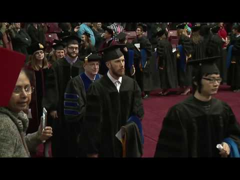 2017 UMN Arts, Sciences and Engineering Graduate Commencement
