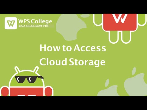 [Tutorial] How To Access Cloud Storage In WPS Office (Kingsoft Office) For IOS