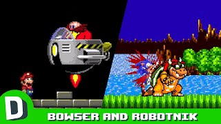 If Bowser and Robotnik Switched Places