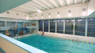 Спортивная секция по прыжкам в воду