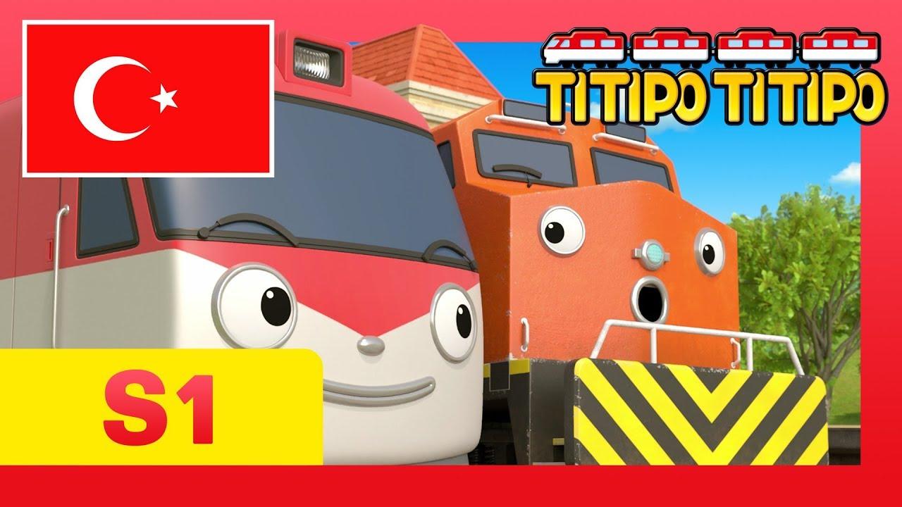 titipo çizgi filmleri çocuklar için l #7 Meniy'de bir tuhaflık var l Küçük Tren Titipo